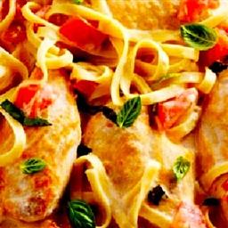 Chicken Parmesan Alfredo (Parmigiana Alfredo)