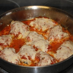 Chicken Parmesan - One Skillet