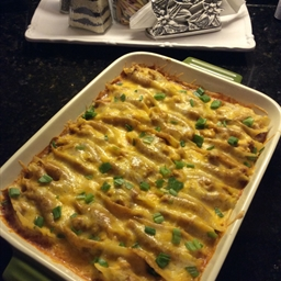 Chicken Stuffed Mexican Shells