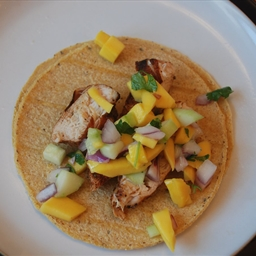 Chicken Tacos with Mango Salsa