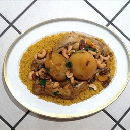 Chicken tajine with lemon