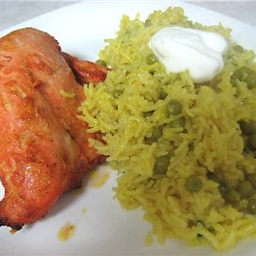 Chicken Tandoori (Indian Grilled Chicken)