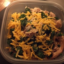 Chicken Thighs with Spinach