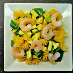 Chilled Shrimp Quinoa Pasta Salad (DailyBurn Ignite)