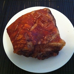 Chinese roast pork belly