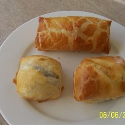 Chocolate Breakfast Pastries or  Chocolate Croissants