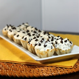 Chocolate Chip Cannoli Cups