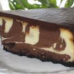 Chocolate Zebra Cheesecake