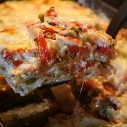 Chunky Vegetable Lasagna