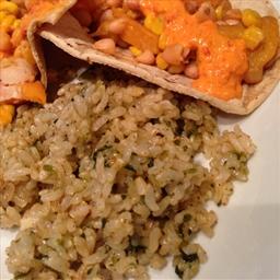 Cilantro Chili Lime Rice