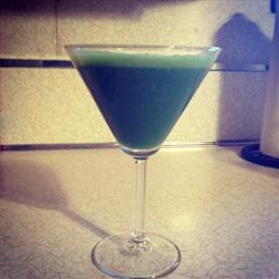 Cilantro Lime Green Smoothie