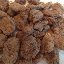 Cinnamon Glazed Almonds (Pecans)