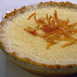 Citrus Chiffon Pie