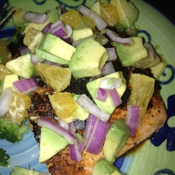 Citrus Salmon with Avocado Salsa