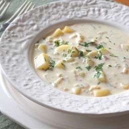 Clam Chowder - Fast and Easy