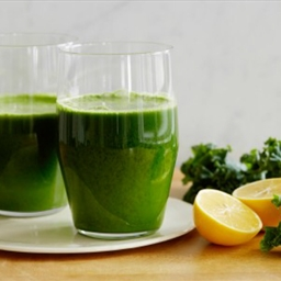 Classic Green Juice with a Meyer Lemon Twist
