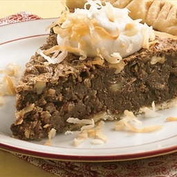 Coconut-Pecan Chocolate Pie