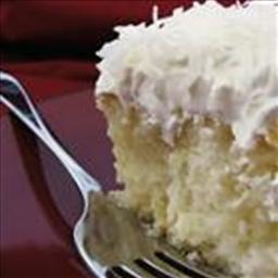 Pina Colada Cream Cake