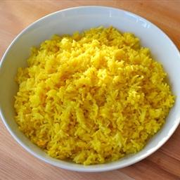 Coconut Saffron Rice