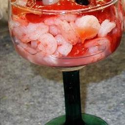 Coctel De Camarones (Shrimp Cocktail)