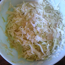 Coleslaw with Microwave Boiled Dressing