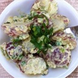 Curried Potato Salad (No Mayo!)