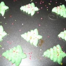 Cookie Day - Christmas Tree Press Cookies