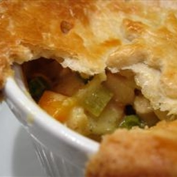 Corn and Crab Pot Pie