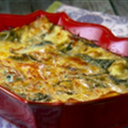 Corn and Poblano Lasagna