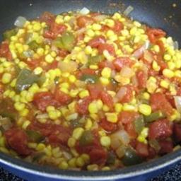 Recipes Course Side Dish Vegetables Corn Maque Choux