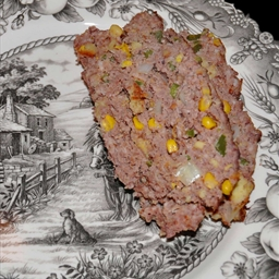 Cornbread and Jalapeno Meatloaf