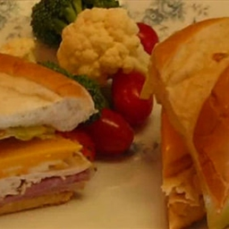 Country Ham Chicken Cheese Hoagie