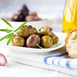 Cracked Marinated Olives