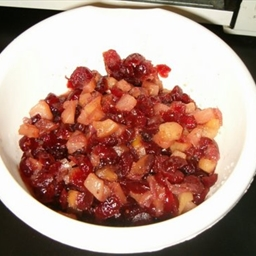 Cranberry Apple Pear Chutney