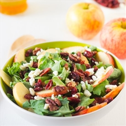 Cranberry-Apple-Pecan Salad