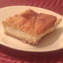 Cream cheese cinnamon squares