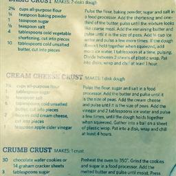 Cream Cheese Pie Crust