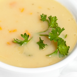 Cream of Carrot Cheddar Soup
