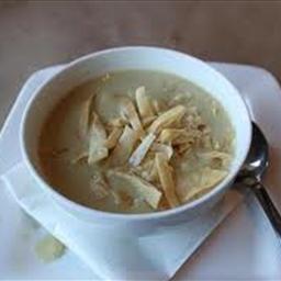 Cream of Poblano Soup