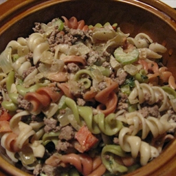 Creamy Beef and Pasta