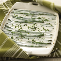 Creamy Chavrie Green Beans