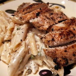 Plain Chicken's Creamy Grilled Chicken Piccata