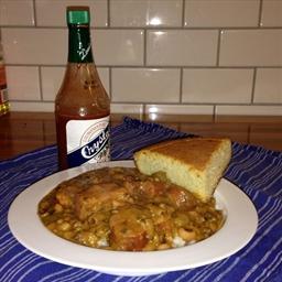 Creole Black Eyed Peas