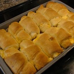 Crescent roll casserole