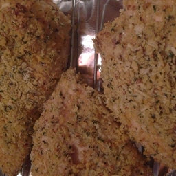 Crispy Panko Coated Ranch Chicken