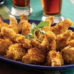 Crispy Potato Chicken Wings