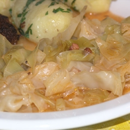 "Croatian cabbage stew (""prisiljeno zelje"")"
