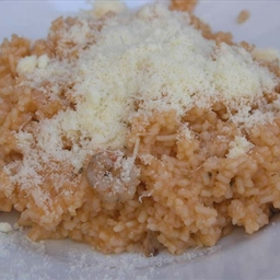 Croatian Dalmatian red risotto (fisherman's risotto)