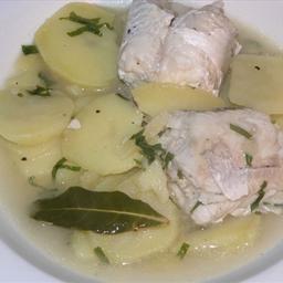"""Croatian fish """"gregada"""""""