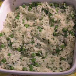 Croatian Rizi-bizi (Rice and Green Peas)